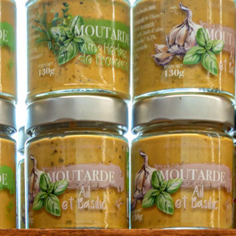 Moutarde aromatisée